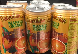 Hawaiian Sun Mango Orange, Canned Juice, Non Carbonated 11.5 oz - $24.99