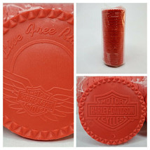 Harley Davidson Poker Chips 25 Count Red New - $11.77