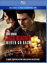 Jack Reacher:Never Go Back (Blu-ray, 2017)