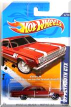 Hot Wheels - '67 Plymouth GTX: Muscle Mania - Mopar '12 #6/10 - #86/247 *Copper* - $4.00