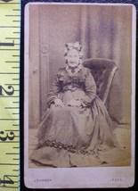 CDV Carte De Viste Photo Grandma From Leeds! c.1859-80    - $3.20