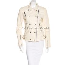 HotLeatherWorld Women Military  Leather Jacket Women Genuine Leather Jacket M1