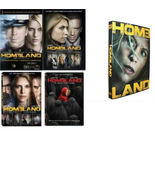 Homeland Complete Seasons 1-5 Bundle DVD 20-Dis... - $45.00