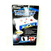 "Triumph Sports 20"" Lumen-X Air Hockey Tabletop Game LED Christmas Gift P... - $27.74"