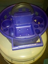 Portable Dorm Shower Caddy Bathroom Organizer--Purple - $20.00