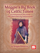 Maggie's Big Book of Celtic Tunes/Hammered Dulc/Irish Tenor Banjo/Fiddle... - $20.95