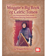 Maggie's Big Book of Celtic Tunes/Hammered Dulc/Irish Tenor Banjo/Fiddle... - $20.95