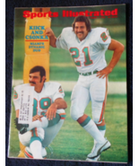 Sports Illustrated-Aug 7, 1972-Miami Dolphins' Larry Csonka and Jim Kiick - $12.95