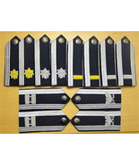 US AIR FORCE MALE MESS DRESS SHOULDER BOARDS - ALL RANKS - CURRENT ISSUE... - $51.48+