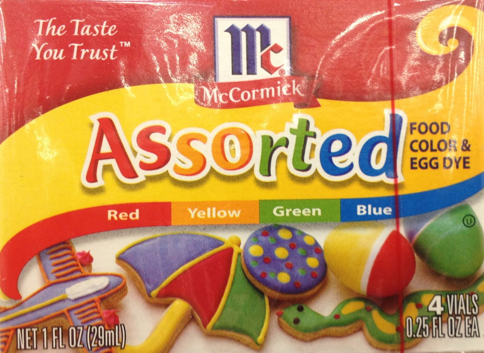 McCormick, Food Coloring & Egg Dye, Four and 42 similar items