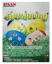 PAAS* 73pc Easter Egg GARDENING Fun Expressions DECORATING KIT Flower+Bu... - $2.95