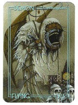 Magic The Gathering MTG Promo Token Demon 5/5 Card Kingdom - NM - $2.95