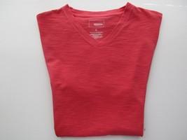 Sonoma The Garment Dyed Tee Short Sleeve V-Neck Men T-Shirt 610 Cardinal S $24 - $10.71