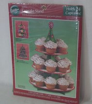 Wilton Holiday 3-Tier Cupcake Stand for 24 Cupcakes - 1512-113 - $9.89