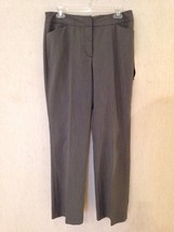 "NWT $99 MSRP Ann Klein Washable Dress / Career Pants 31 x 32""  Ms Size 10 - $12.73"