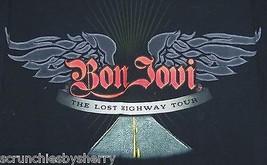 Bon Jovi T-Shirt Concert Last Highway Tour T Shirt Size Med 2008 Rock Ro 8560dccbf4c4