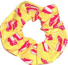 Hair Scrunchie Wizard of Oz Fabric Tie Ruby Red Slippers Scrunchies by Sherry - $6.99+