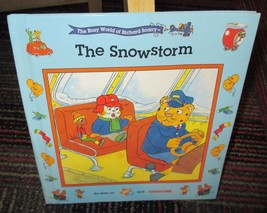 THE BUSY WORLD OF RICHARD SCARRY: THE SNOWSTORM HARDCOVER BOOK, GREAT RE... - $3.99
