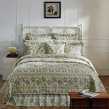 Briar Sage Queen Quilt Combo - 6 Pieces - Sale Priced - $40 Off - Vhc Brands