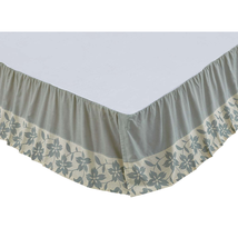 Briar Sage Bed Skirt - All Sizes Available - Vhc Brands