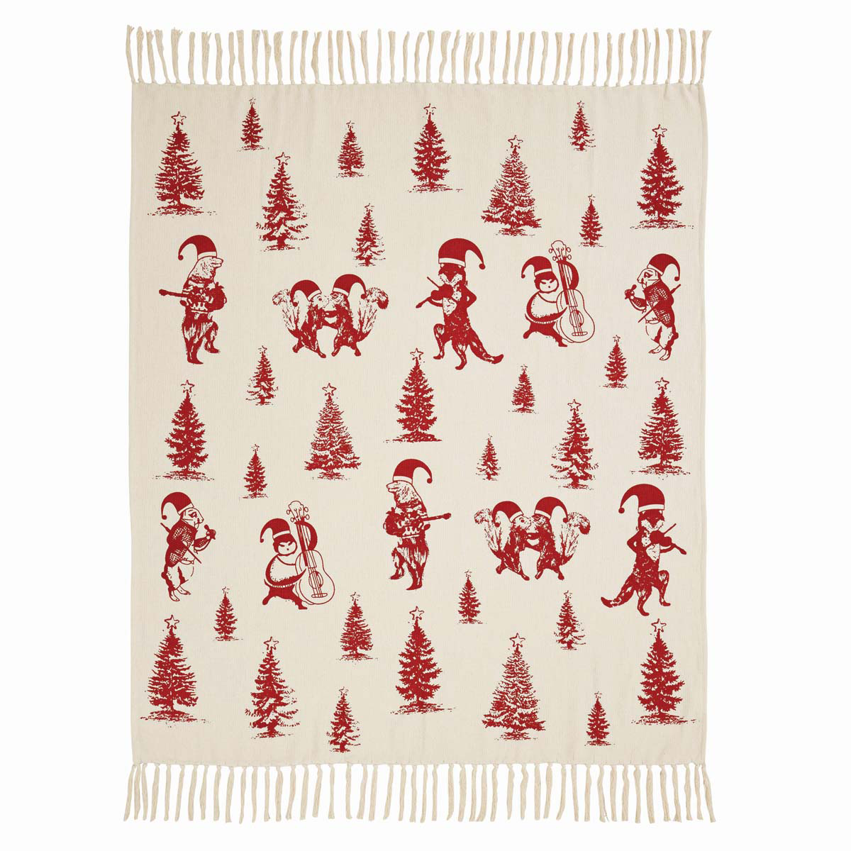 Creature Carol Woven Throw