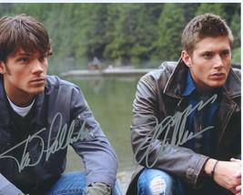 Supernatural Cast Signed Photo 8X10 Rp Autograph Jensen Ackles Jared Padalecki - $19.99