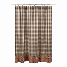 Dawson Star Patchwork Shower Curtain