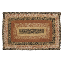 Kettle Grove Braided Jute Rug 20x30""
