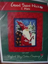 "Pattern - Christmas Wall Quilt ""Good St Nick"" by J.Blake 17.5"" x 21.5"" - $8.99"