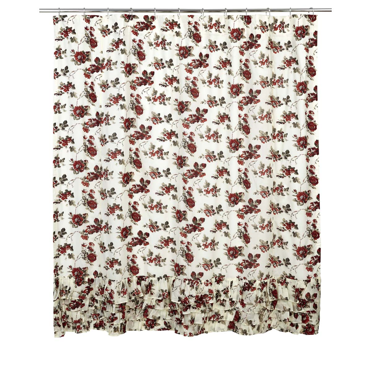 Mariell Ruffled Shower Curtain