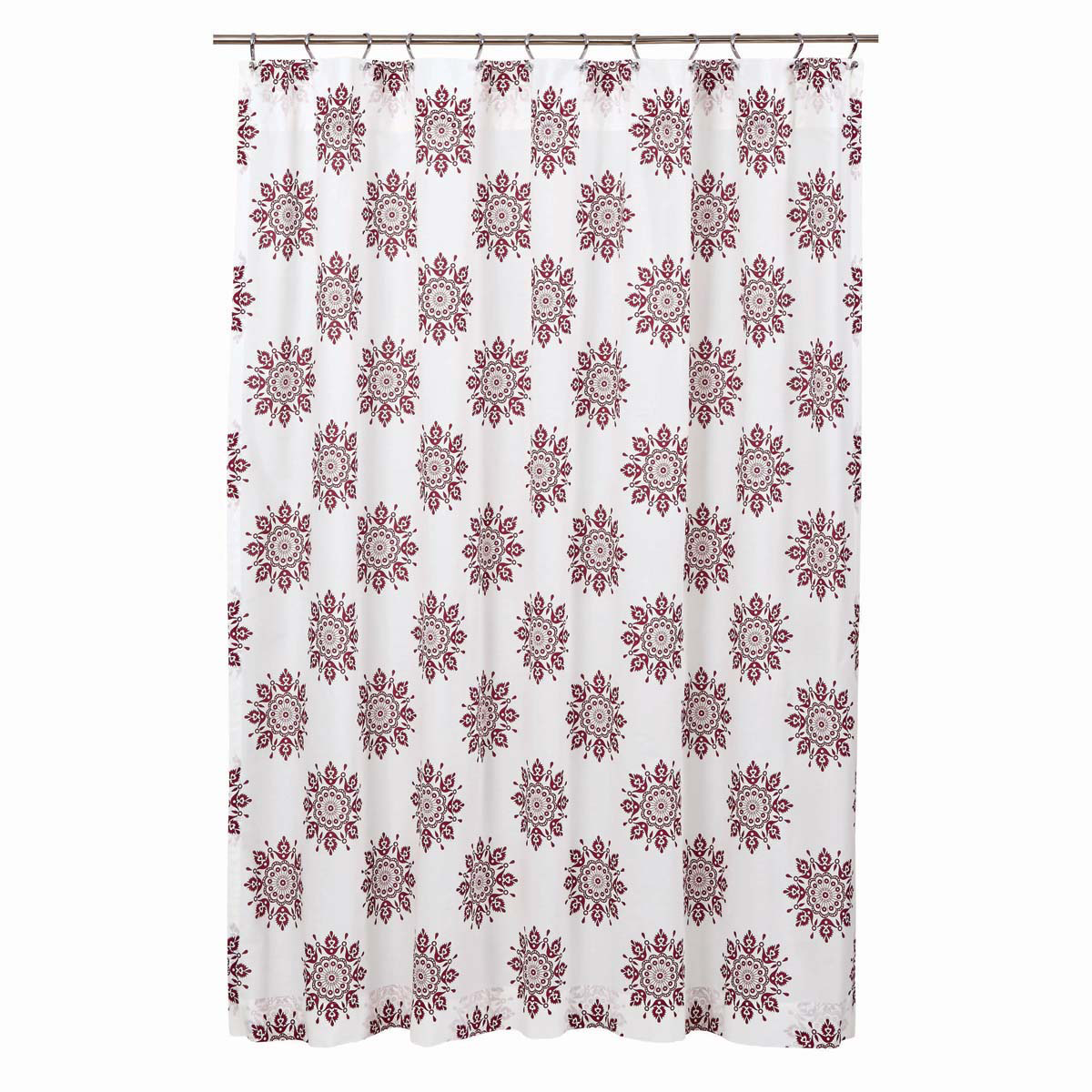 Mariposa Shower Curtain - Fuchsia - Vhc Brands