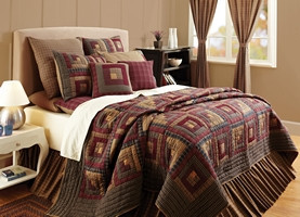 Millsboro King Quilt Set - 7 Pieces - Vhc Brands