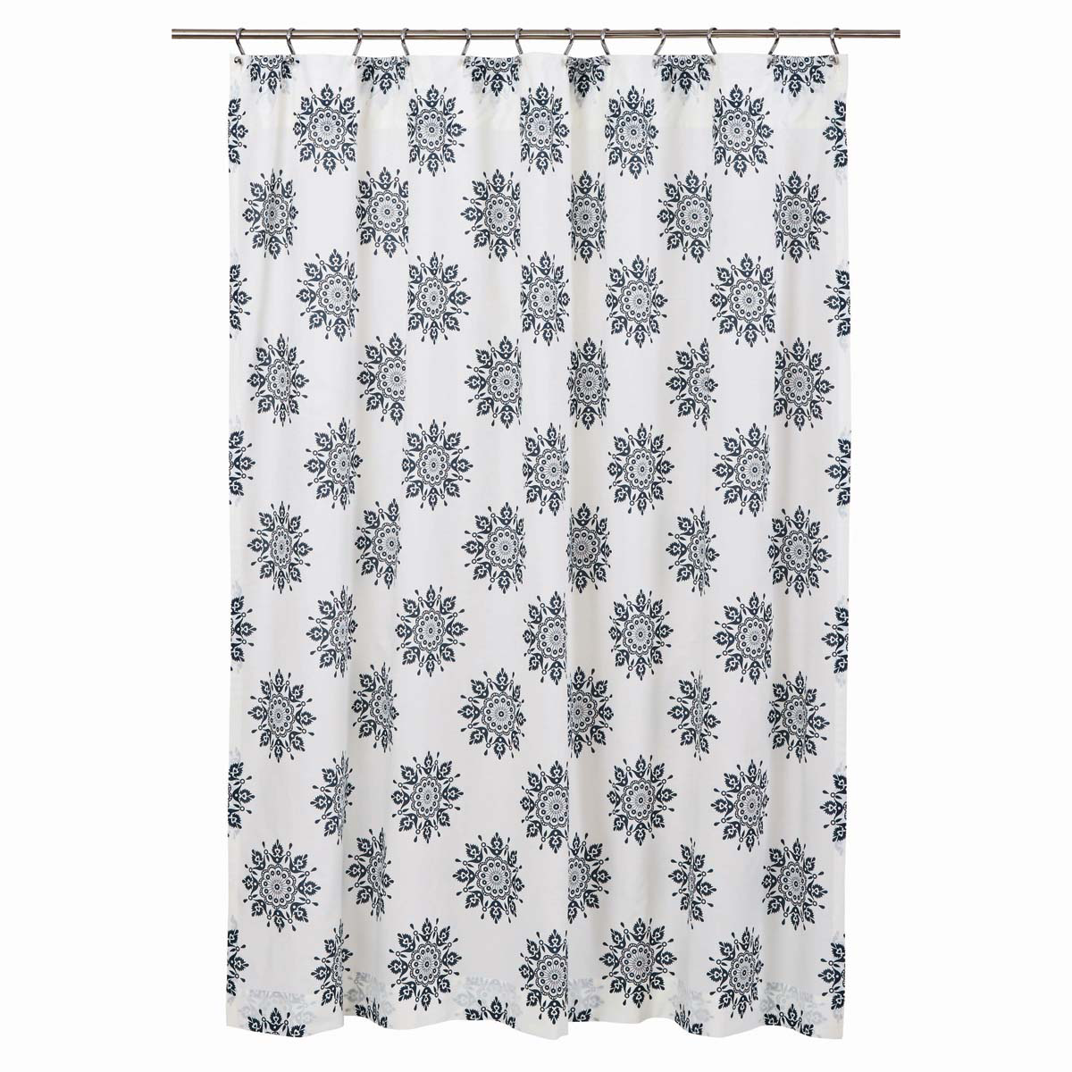 Mariposa Shower Curtain - Indigo - Vhc Brands