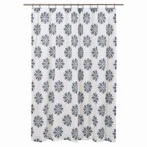 Mariposa Shower Curtain - Indigo - Vhc Brands
