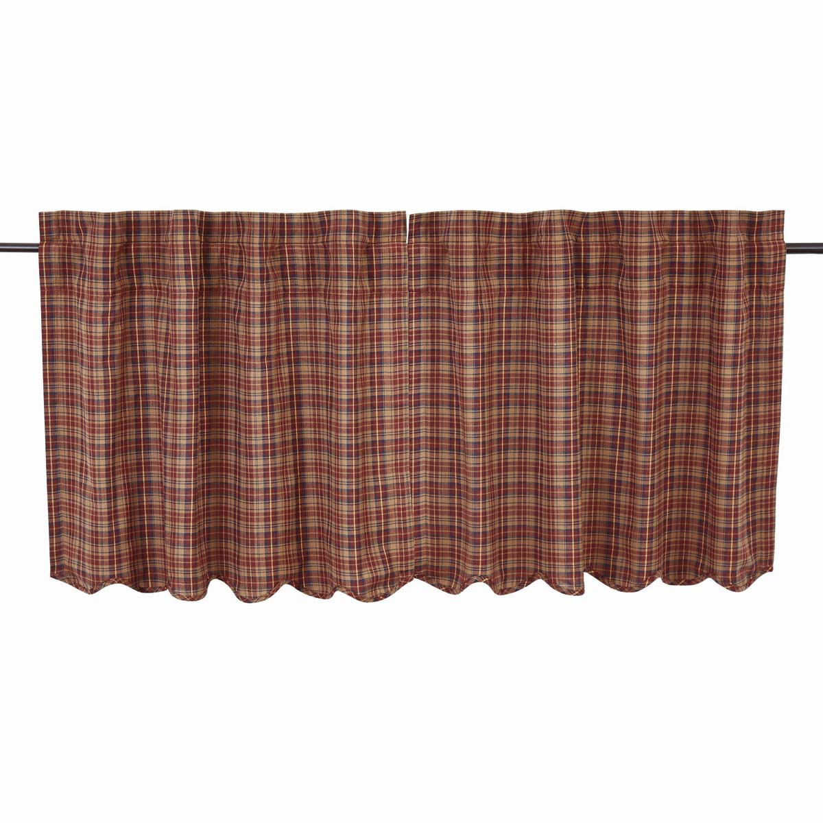 "Parker Tier Set - Scalloped Lined 24x36"" - Vhc Brands"