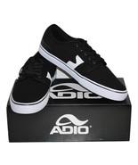 """Men's Black/White """"Kick"""" Skate Shoes by Adio - ... - $19.99"""