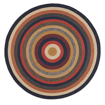 Stratton Jute Rug - 8 Foot Round