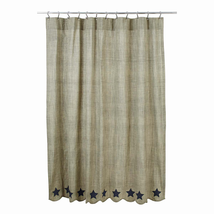 Vincent Shower Curtain - Scalloped