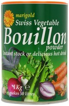 Marigold Swiss Vegetable Bouillon for soups, sauces and casseroles, 1 kg.  - $22.00