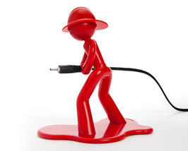 peleg design Charging Charlie red cable charge‭ hold cellphone iphone f... - $23.00
