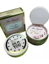 TOO FACED Dew You Fresh Glow Translucent Radiant Nude Setting Powder Full Size - $16.43