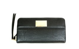 Juicy Couture Women's Wallet Clutch Black W/Gol... - $58.97
