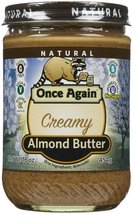 Once Again Nut Butters (C) Almond Btr, Smth, Ns... - $17.23
