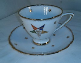 ROYAL STAFFORD Bone China England OES Cup and Saucer - $12.16