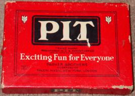 PIT CARD GAME OLD VINTAGE 1947 PARKER BROTHERS COMPLETE - $30.00