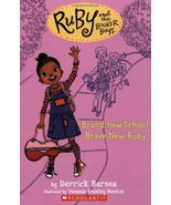 Ruby and the Booker Boys #1: Brand New School, Brave New Ruby [Paperback... - $1.95