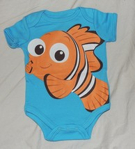 New Disney Baby Finding Nemo Sizes 0 to 9 M Fish Dory Blue Pixar Bodysuit - $9.99