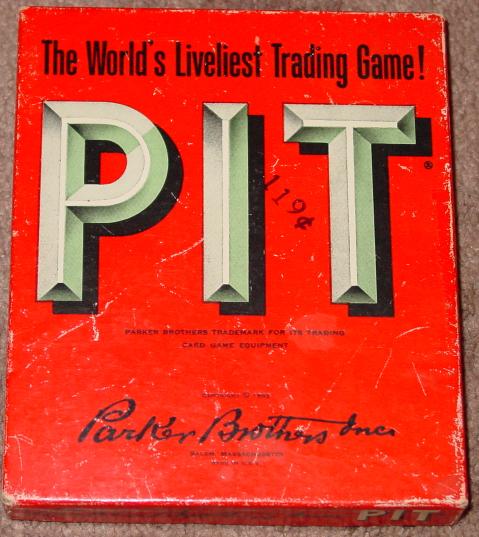 PIT CARD GAME OLD VINTAGE 1962 PARKER BROTHERS COMPLETE EXCELLENT - $25.00