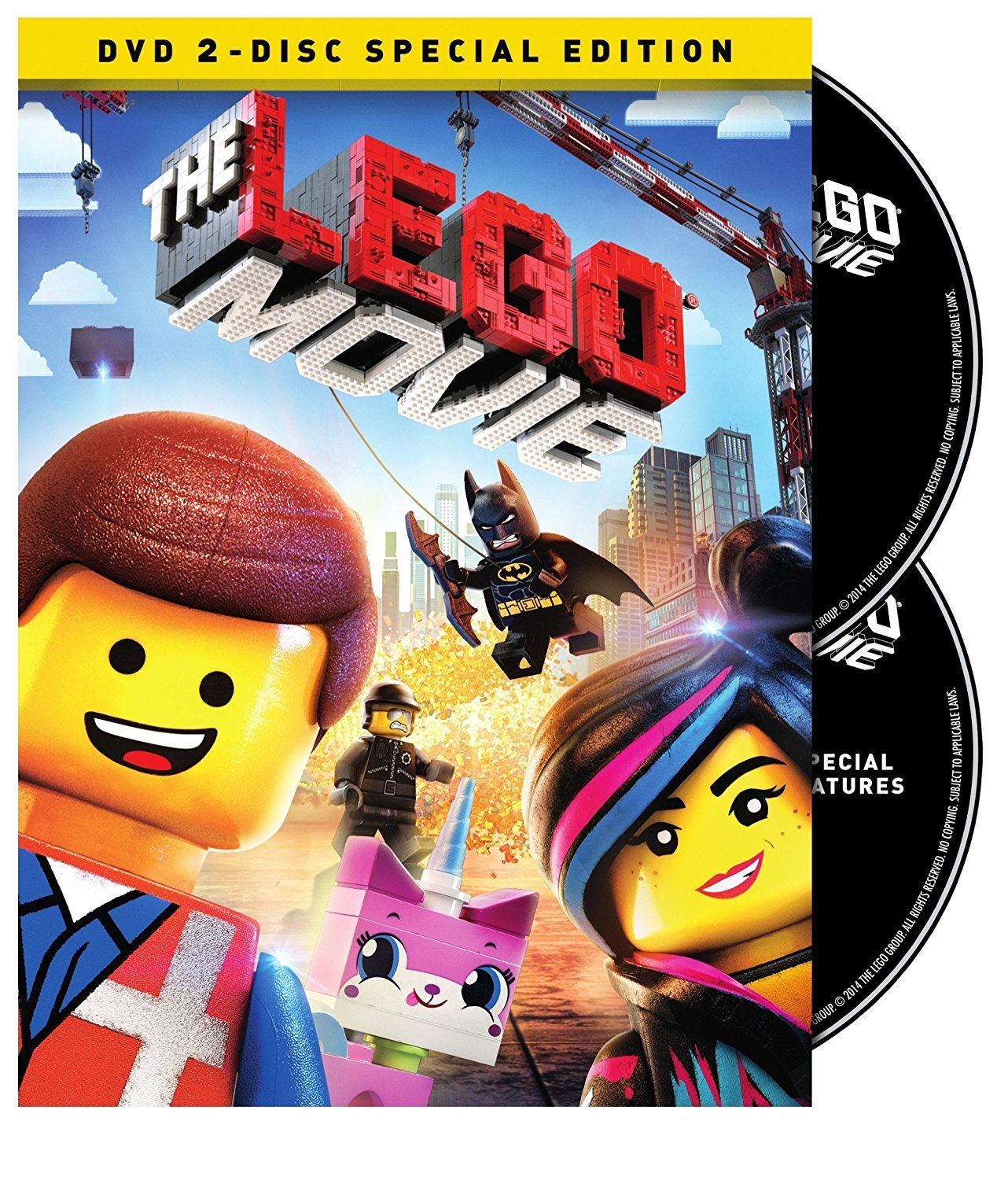 The LEGO Movie (DVD, 2014, 2-Disc Set)