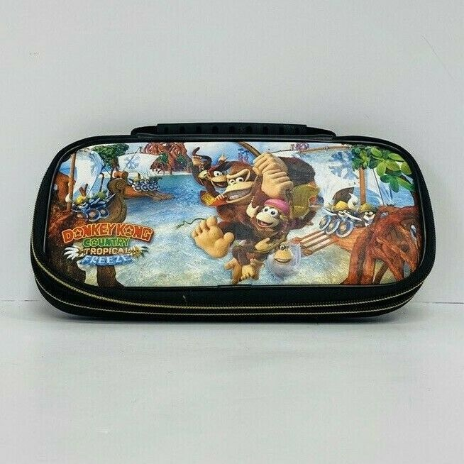 Primary image for Nintendo Switch Donkey Kong Country Tropical Freeze Carrying Case
